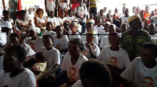 Brigitte Dzogbenuku PPP ashanti region campaign 2016